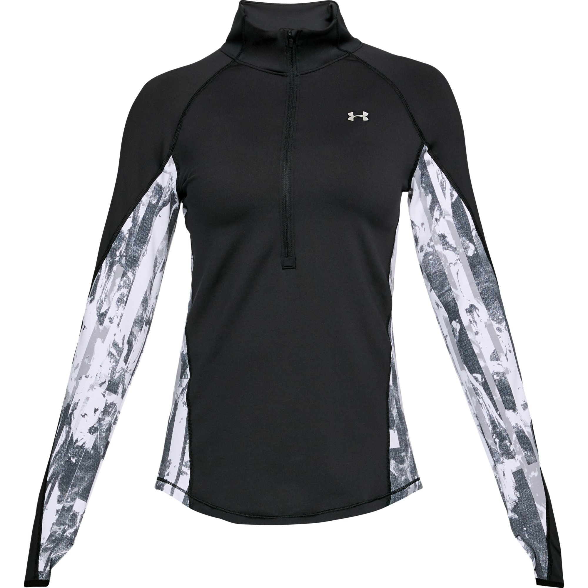 Under Armour ColdGear Armour Printed ½ Zip XL Black by Under Armour (Image #1)