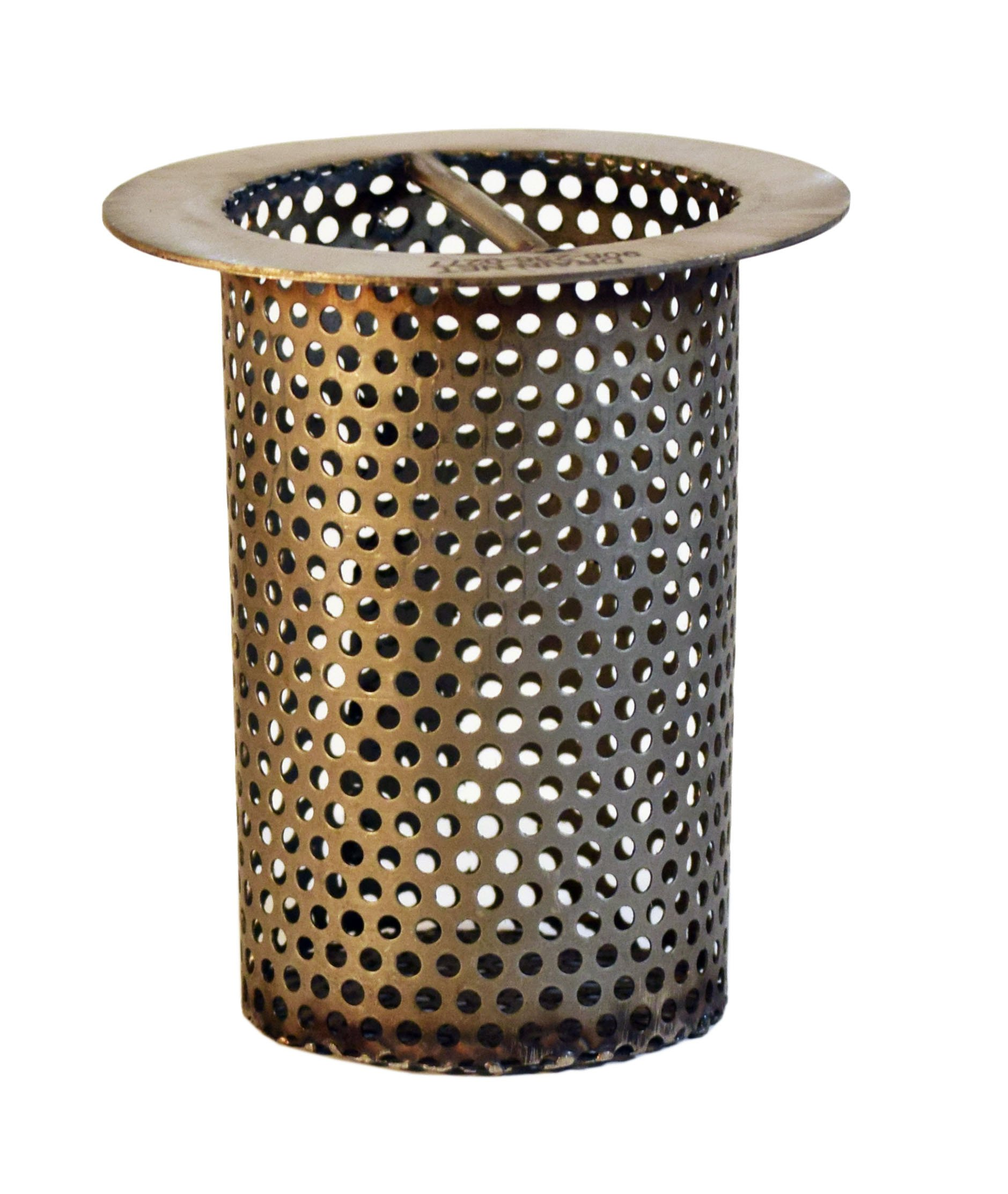 3'' Commercial Floor Drain Strainer, Perforated Stainless Steel, 4'' tall by Drain-Net