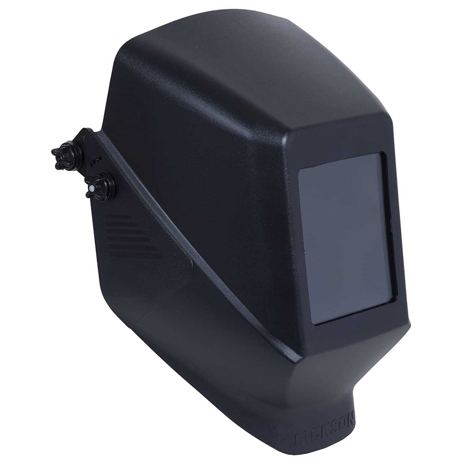 Black 4 Units//Case Kimberly-Clark Professional 14975 Jackson Safety Fixed Shade HSL 100 Welding Helmet with 187 Mounting Blades