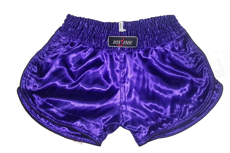 Boxsense Damen Muay Thai Hosen Boxen - BXSWO-001-Purple