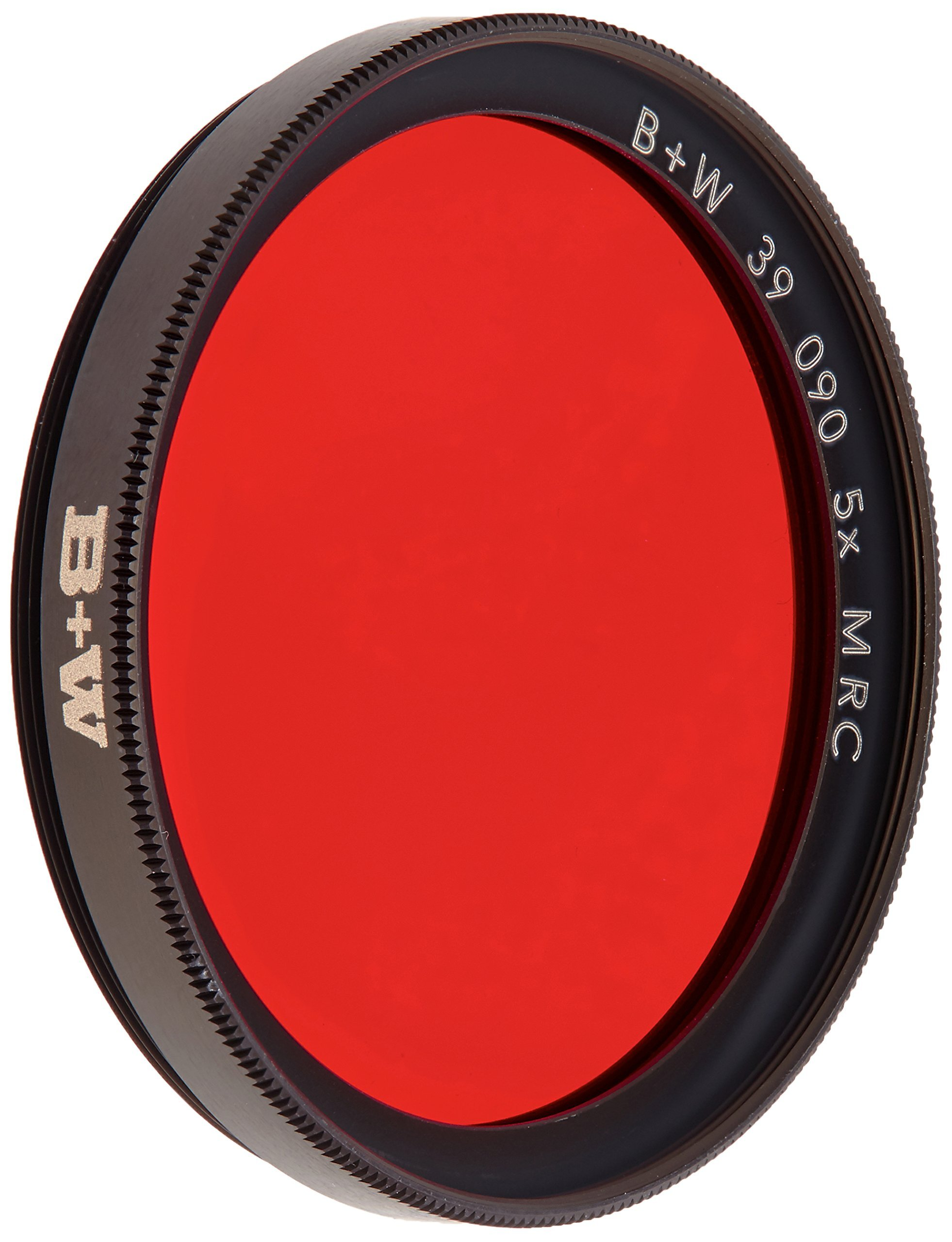 B+W 39mm Light Red Camera Lens Contrast Filter with Multi Resistant Coating (090M)