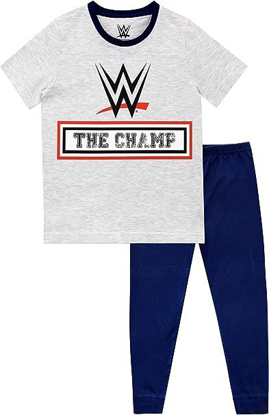 WWE Pigiama a Maniche Corte per Ragazzi World Wrestling Entertainment