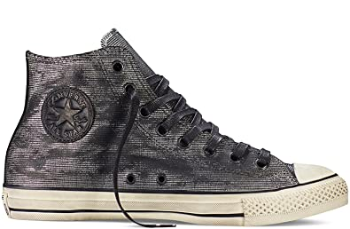 Image Unavailable. Image not available for. Color  Converse Chuck Taylor All  Star John Varvatos Silver Black shoe Fashion sneaker b73eb2c0e