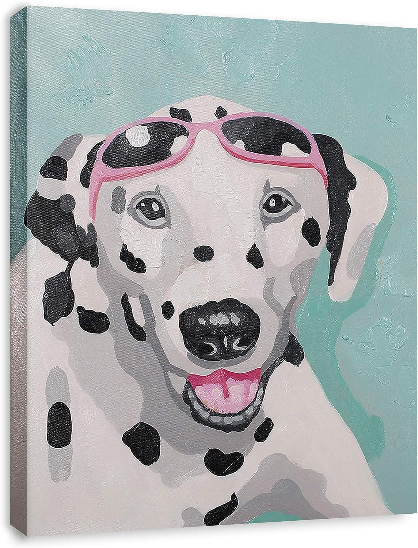 Modern Pop Art Decor Framed Dalmatian Dog Animal Art Canvas Print Home Decor Wall Art Gallery Wrap Inner Frame 14x18 Amazon Co Uk Welcome