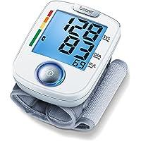 Beurer BC 44 Blutdruckmessgerät, vollautomatische Blutdruck- und Pulsmessung am Handgelenk mit einfacher Bedienbarkeit