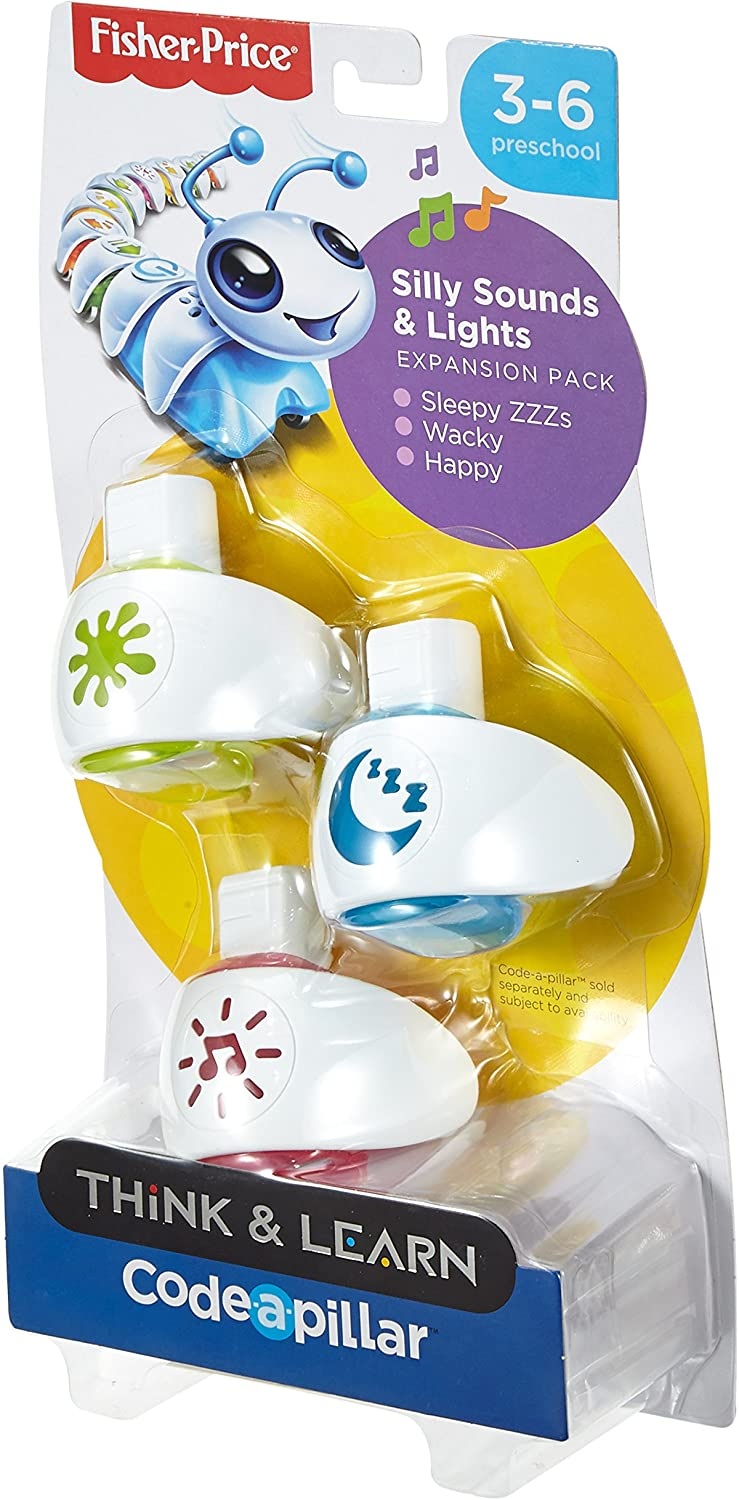 Fisher-Price Think And Learn Code-A-Pillar Silly Sounds And Lights Expansion Toy