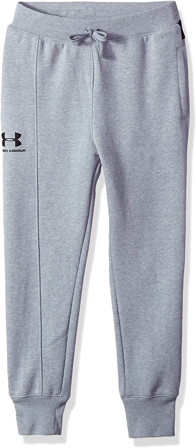 Under Armour Boys Rival Blocked Jogger Trousers