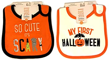 halloween bibs carters baby halloween bibs my first halloween bib lots of choices