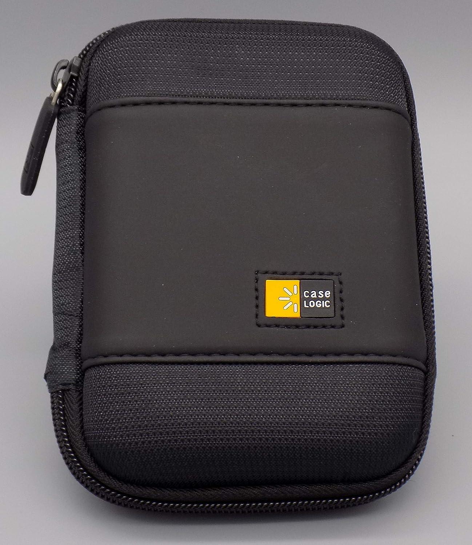 Black Case Logic PHDC1BK Compact Portable Hard Drive Case