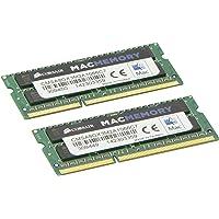 Corsair Apple 8 GB Dual Channel Kit DDR3 1066 (PC3 8500) 204-Pin DDR3 Laptop SO-DIMM Memory CMSA8GX3M2A1066C7