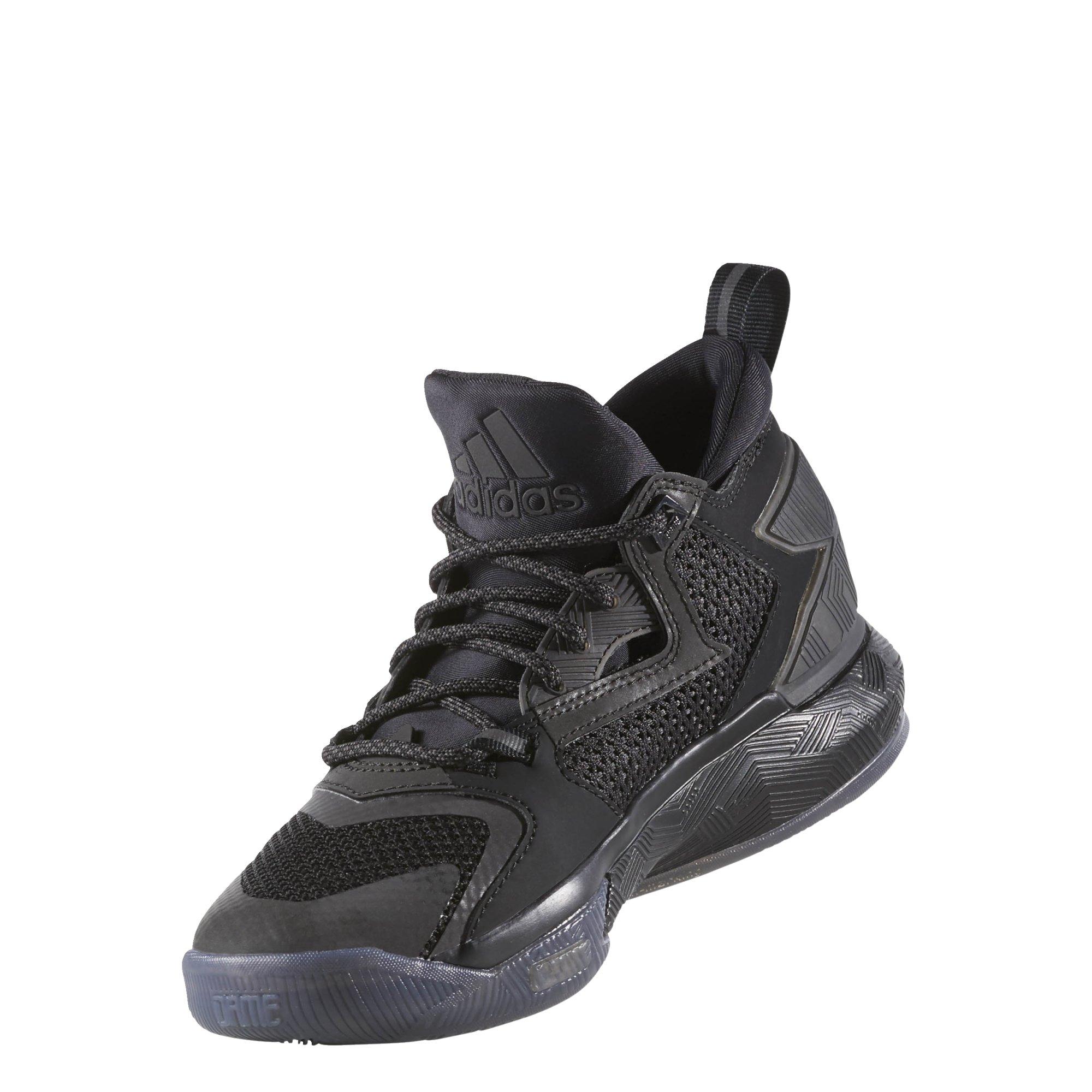Adidas D Lillard 2 J boys basketball-shoes B39073_5 - CBLACK,CBLACK,CBLACK