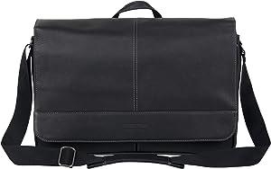"""Kenneth Cole Reaction 15.6"""" Laptop Messenger Bag, Black"""