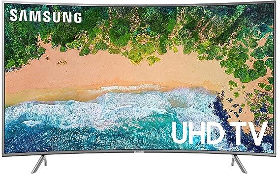 Samsung UN49NU6300FXZA Televisor Smart HDR 4K Ultra HD Curvo de Clase de 49 Pulgadas: Amazon.es: Electrónica