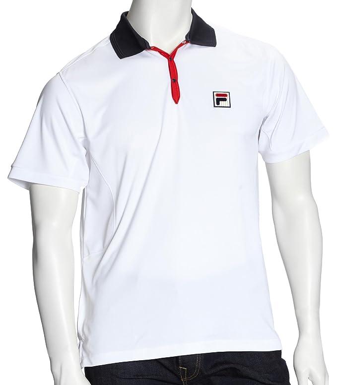 Fila - Polo de Tenis, White Line, Ap, Primavera/Verano, Hombre ...