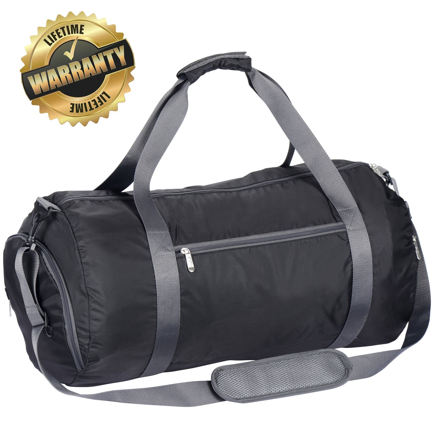 Amazon.com  WEWEON Gym Bag with Shoes Compartment Travel Sports Duffel for  Men and Women Including Large Gear Workout Dry Pocket  Sports   Outdoors 19919b4a96