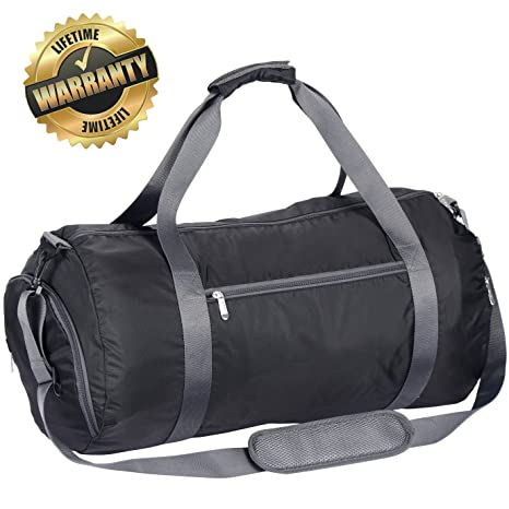 Image Unavailable. Image not available for. Color  WEWEON Gym Bag with Shoes  Compartment Travel Sports ... f76f9904d2