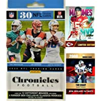 $39 » 2020 Panini Chronicles Football Hanger Box FACTORY SEALED 30 Cards - Look For Exclusive Hanger Rookies of JUSTIN HERBERT, TUA,…