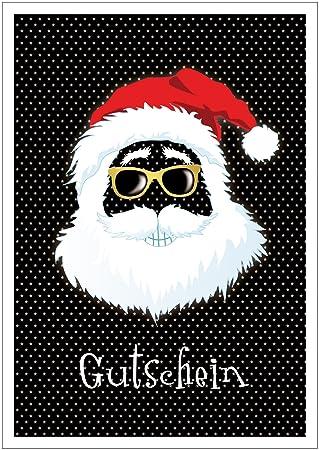 Erhältlich im 1er 4er 8er Set: Coole lustige Weihnachtskarte ...