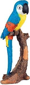 LED Solar Parrot, Blue