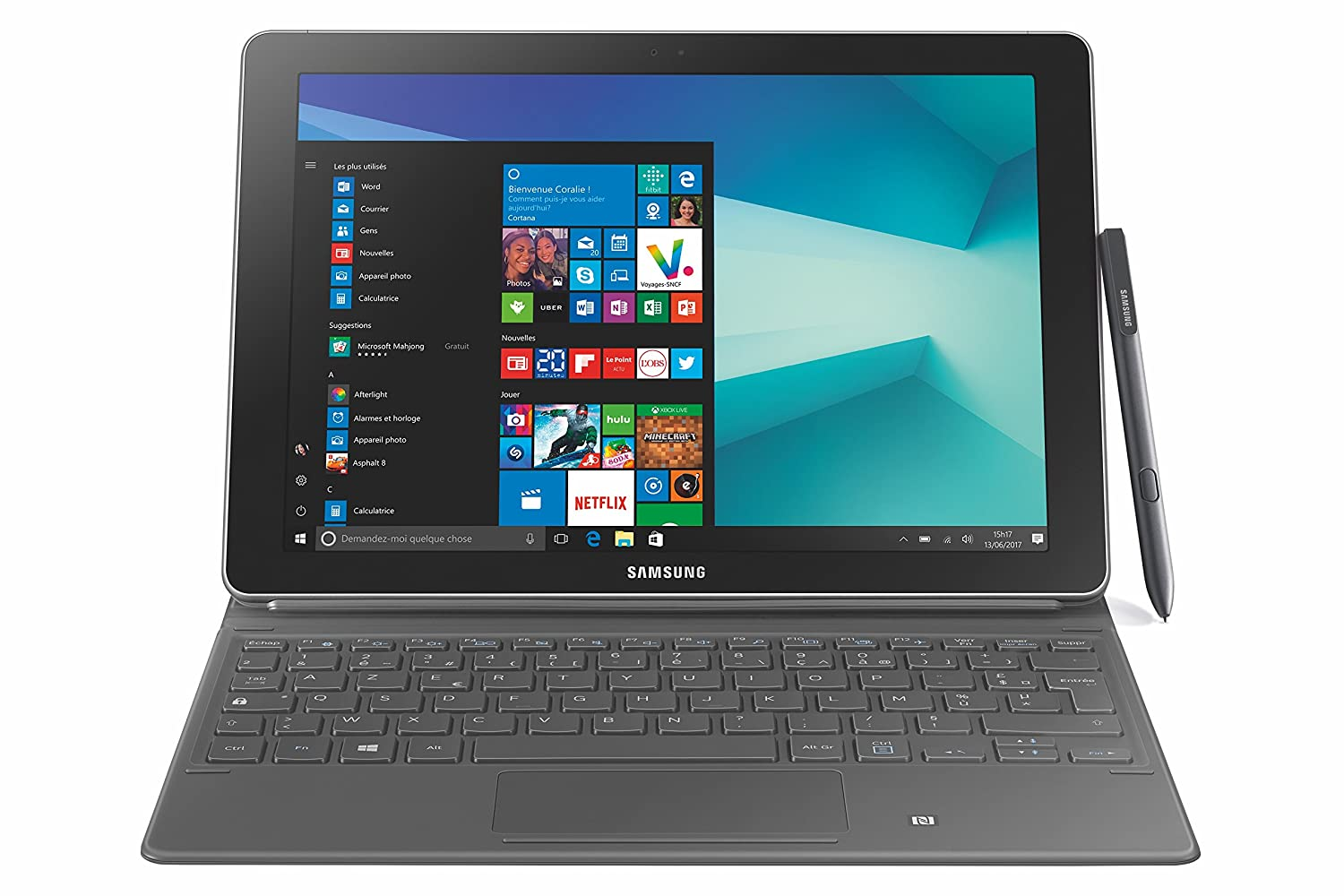 Verwonderlijk Samsung Galaxy Book 26,9 cm Touchscreen Tablet-PC: Amazon.de OD-22