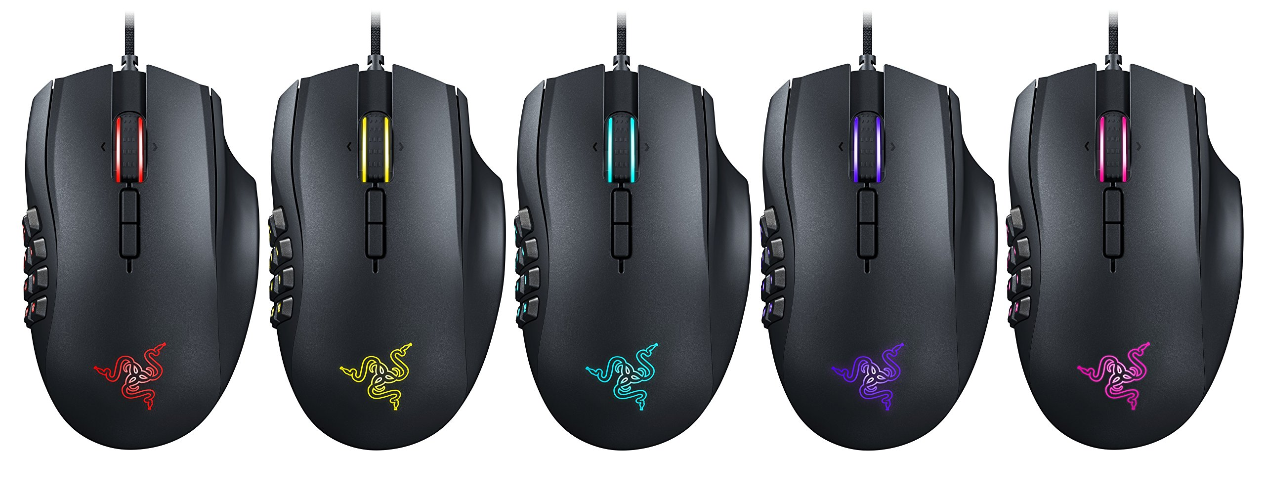 Razer Naga Chroma - Ergonomic RGB MMO Gaming Mouse- 12 Programmable Thumb Buttons & 16,000 Adjustible DPI by Razer