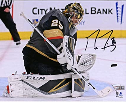 size 40 8f477 2f50d Marc-Andre Fleury Vegas Golden Knights Autographed 8