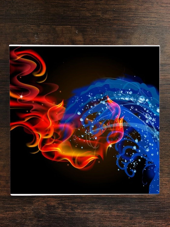 Amazon com | Sticker Skin Print Fire Water Vape Bright