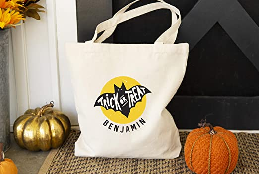 Halloween Trick Treat Tote Bags Candy Cookie Bag Sweet Loot Gift Paper Bag