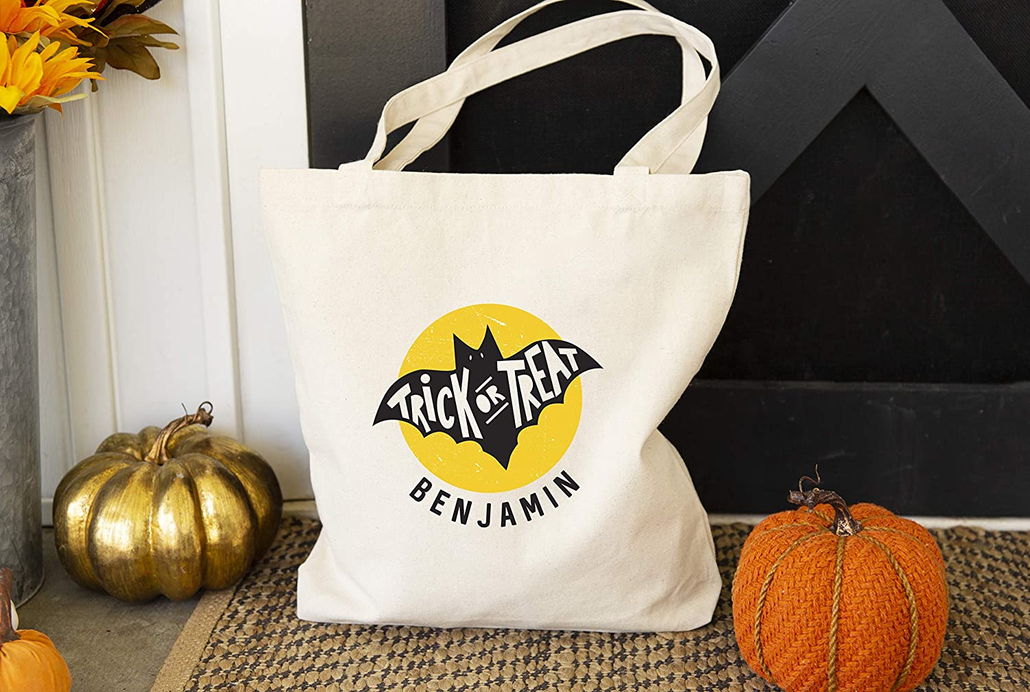 Personalized HOLLAween Candy Tote