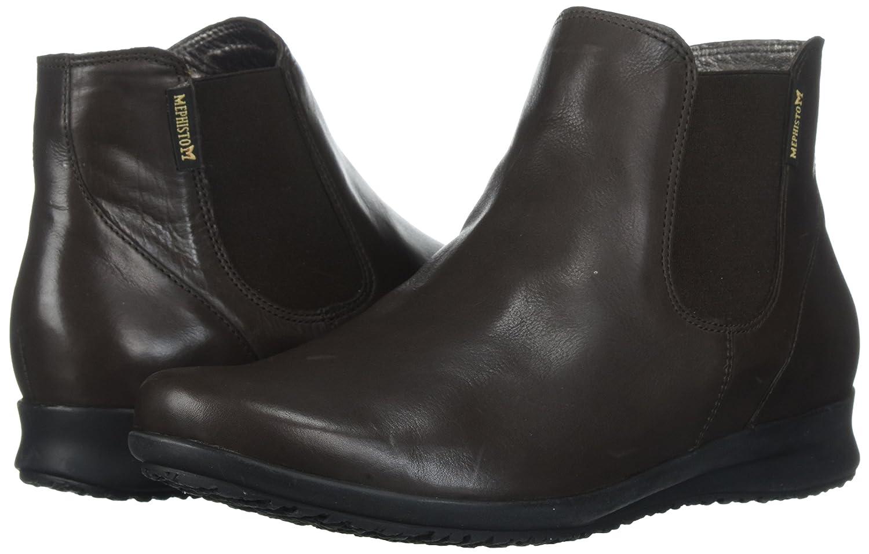 Mephisto Women's Floreta Ankle Bootie Brown B06XCN22M2 5.5 B(M) US|Dark Brown Bootie Silk 09caa2