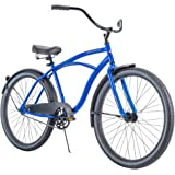 "Huffy`` 26"" Cranbrook Men's Cruiser Bike with Perfect Fit Frame, Blue"