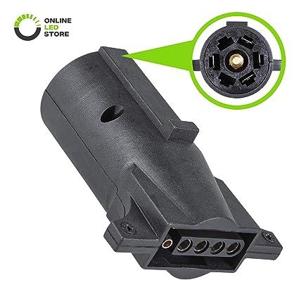 Super Depot Your One Stop Trailer Shop 7 Blade Rv Type Plug Trailer Wiring Wiring Digital Resources Funapmognl