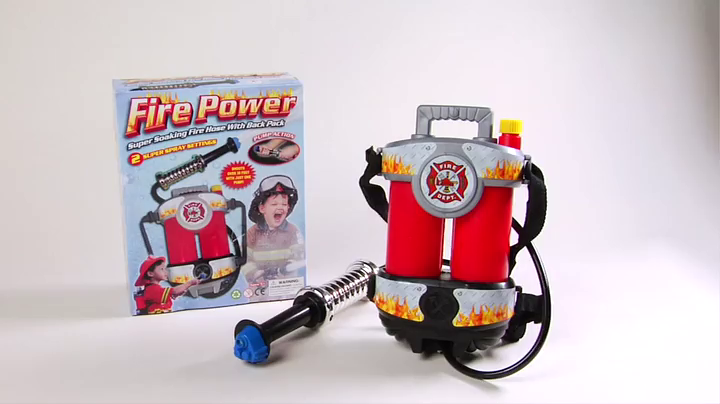 Aeromax Firepower Super Water Hose Party Pack with Backpack TOY-B6 2 Piece Bundle