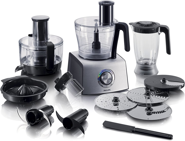 Philips HR7775/00, Plata, 220 - Robot de cocina: Amazon.es: Hogar