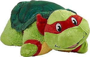 "Pillow Pets Nickelodeon Teenage Mutant Ninja Turtles Stuffed Animal Plush Toy 16"", Raphael"