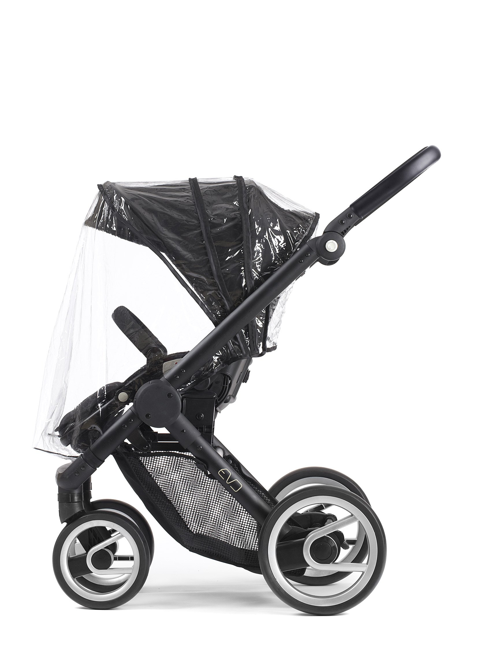 Mutsy Evo Stroller Raincover, Clear by Mutsy (Image #1)