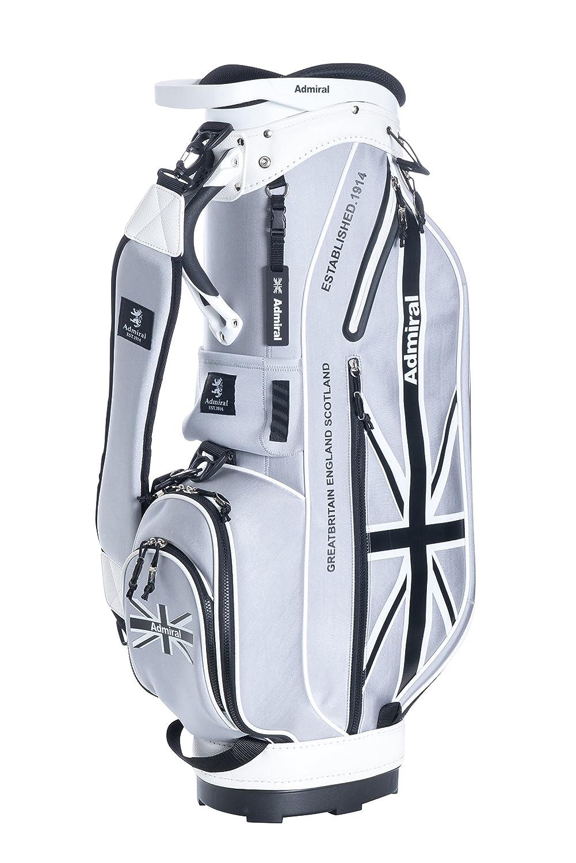 【即納!】アドミラルゴルフ 8.5型キャディバッグ LATEST ネオプレーン ADMG8SC4 【あす楽対応】 B0791YGVD9