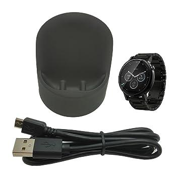Amazon.com: Motorola Moto 360 2 Cargador inalámbrico, Lemeng ...