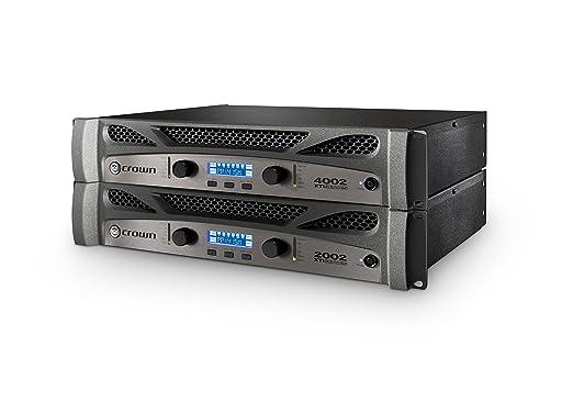 Crown XTi1002 de dos canales, 500 W Amplificador de Potencia Negro: Amazon.es: Instrumentos musicales