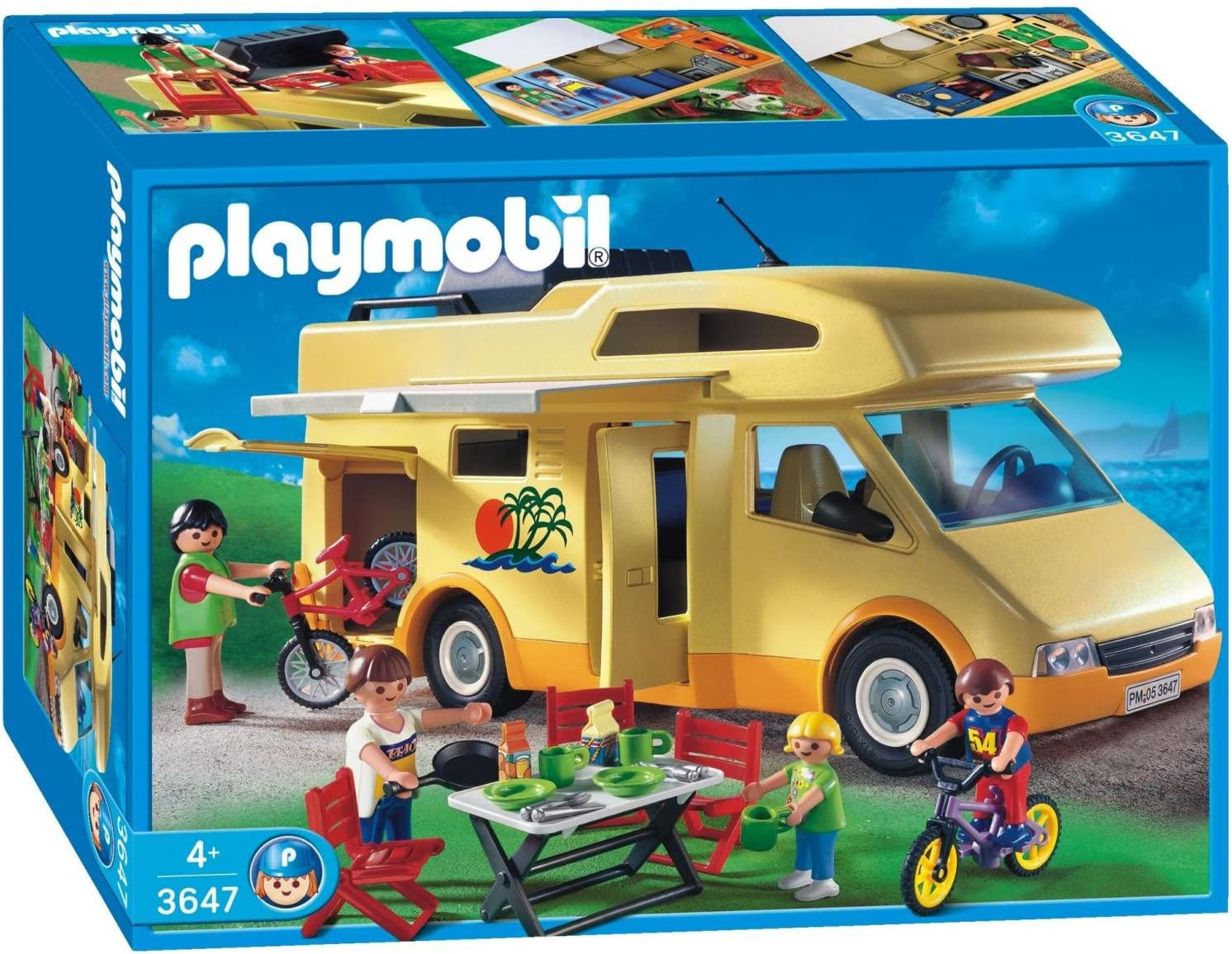 Playmobil 599386031 - Caravana de Vacaciones: Amazon.es: Juguetes ...