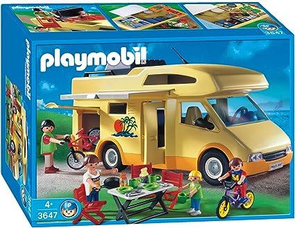 Amazon.com: Playmobil Familia camper por Playmobil: Toys & Games