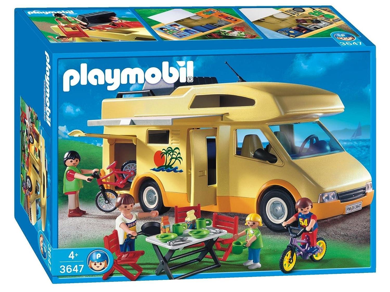 De camping camping car achat vente mobilier de camping camping - Playmobil 3647 Les Loisirs Famille Camping Car Amazon Fr Jeux Et Jouets