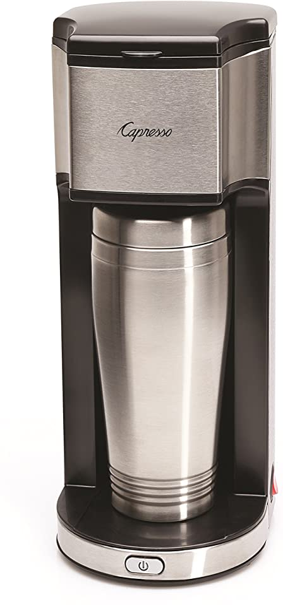 Amazon.com: Capresso On-the-Go - Cafetera personal con taza ...