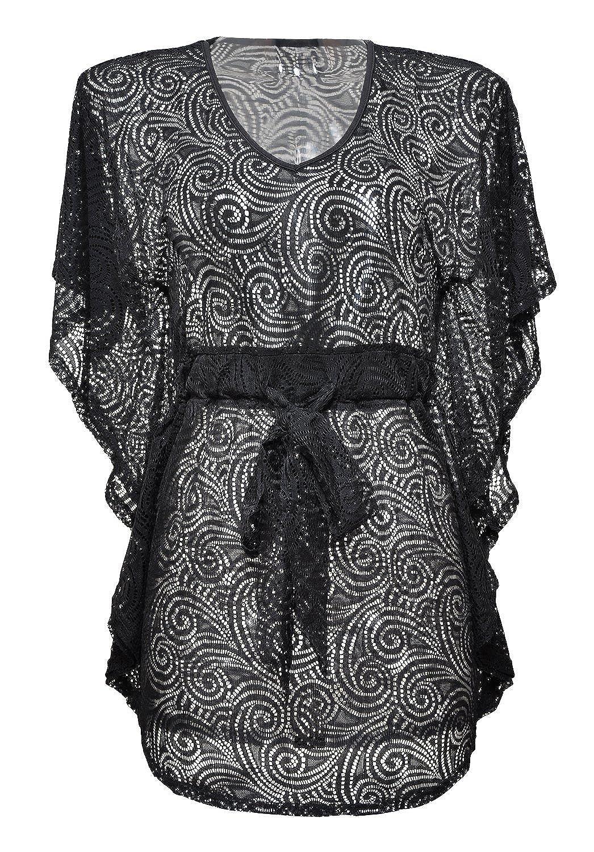V-neck Damenmode Sommerkleid Strandkleid Bademode Badebekleidung Häkeln Bikini Cover Up Sommerbluse