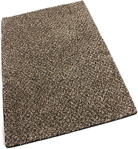 2 x3 Indoor Area Rug – Black Forest 30oz- plush textured carpet for residential or commercial use with Premium BOUND Polyester Edges.