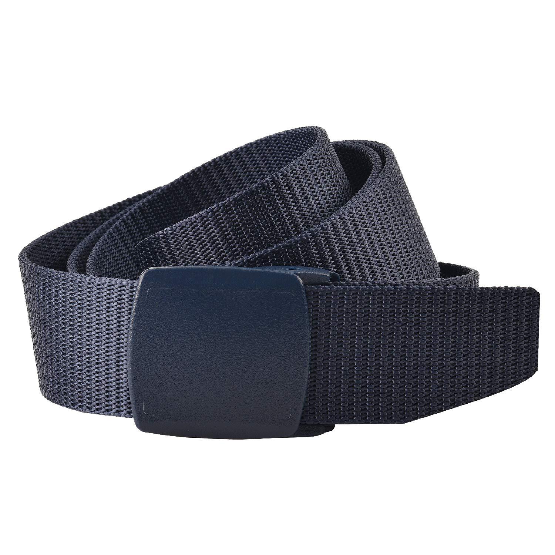KEYNAT Cintura In Nylon Traspirante Maschile Nastro Impermeabile Sport Allaria Aperta Stile Militare Webbing Regolabile YKK Fibbia