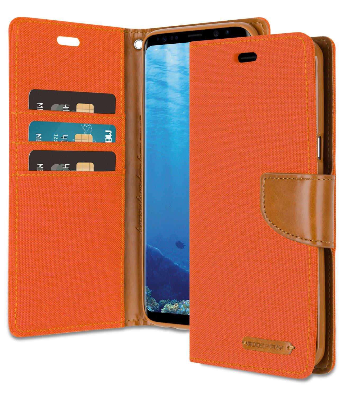 Amazon.com: Funda tipo cartera para Galaxy S8 Plus con 4 ...