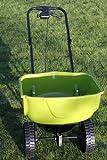 Large Heavy Duty Lawn Fertiliser Spreader For Medium or Large Gardens-REDUCED