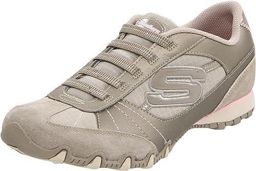 e1b7ac26b0afd Skechers Bikers Vexed Biker-Vexed - Zapatillas fashion de cuero para mujer