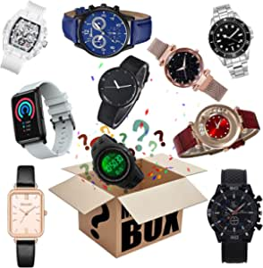 Mystery_Box Watch Lucky_Box Mystery_Boxes Blind_Box, Super Costeffective, Random Style, Excellent Value for Money, First Come First Served, Give Yourself A Surprise, Or As A Gift to Kid,Heartbeat! (A)